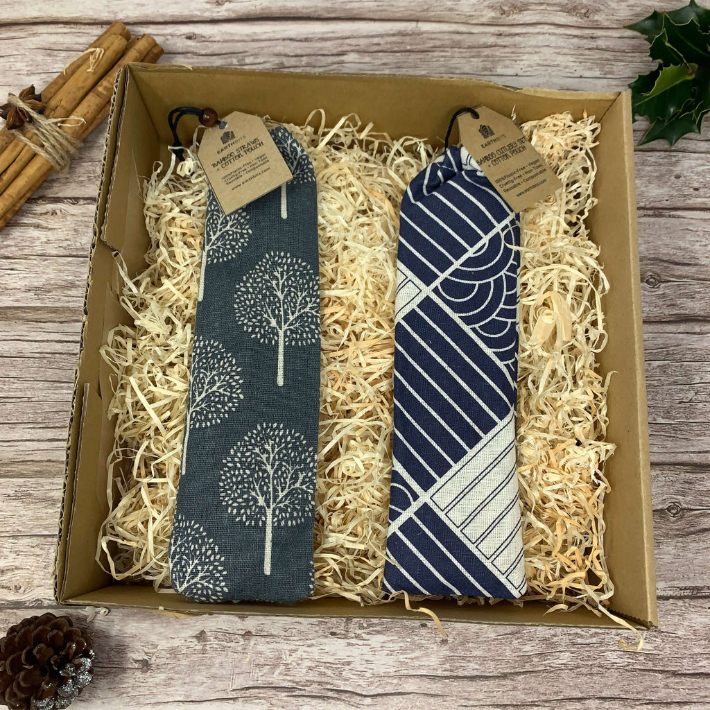 Travelling Gift Set, Bamboo Cutlery and Straw Set, EarthBits