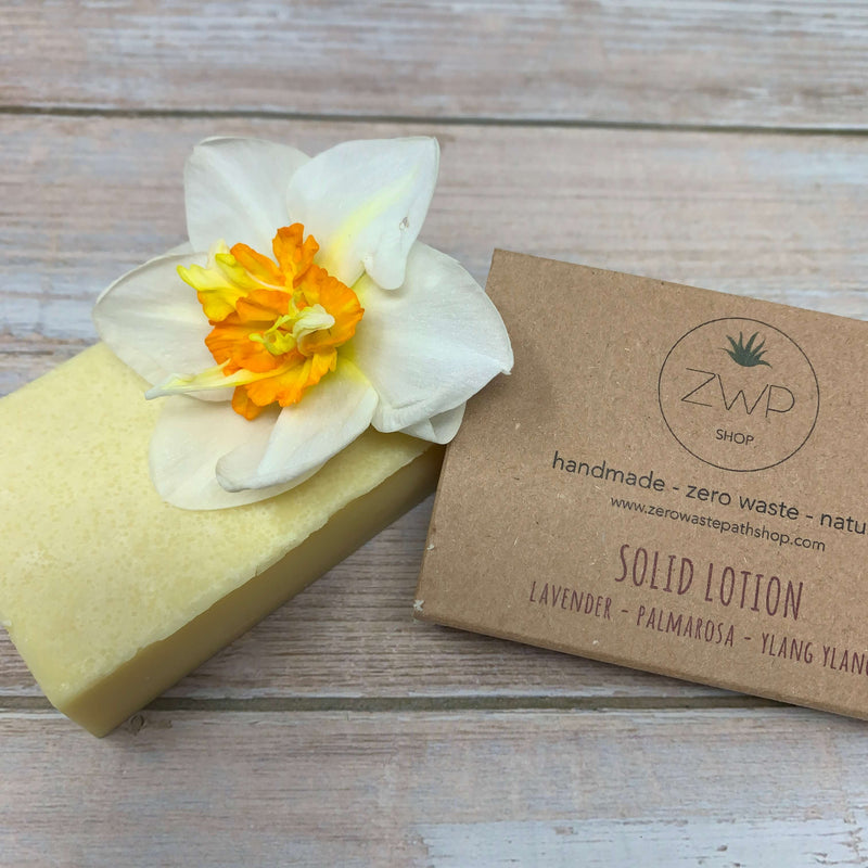 Body Lotion Bar, Moisturiser Bar, Vegan Solid Lotion