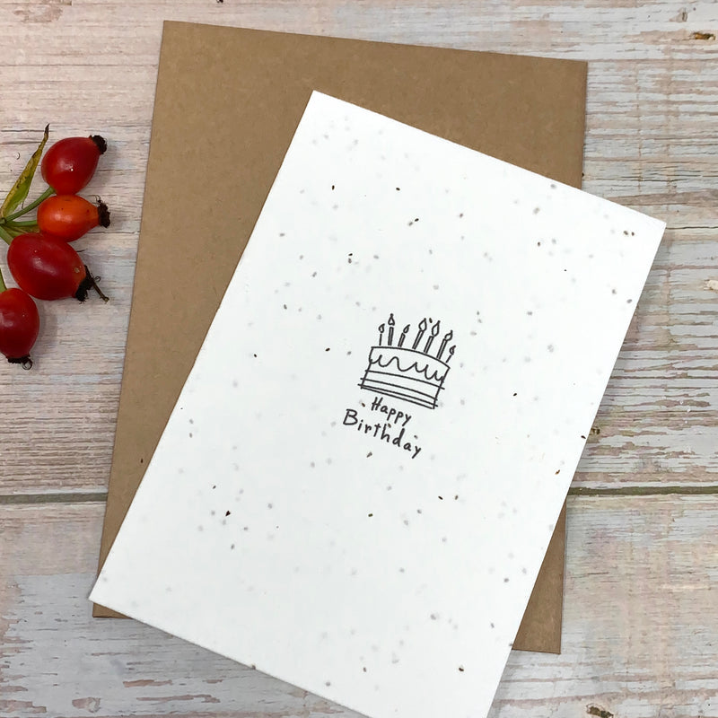 plantable birthday cards ecofriendly