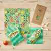 lunch pack beeswax wrap