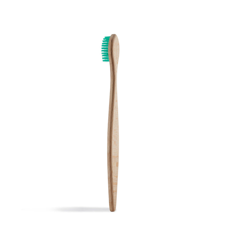 Beechwood Toothbrush, Wooden Toothbrush, Medium Bristles, Georganics