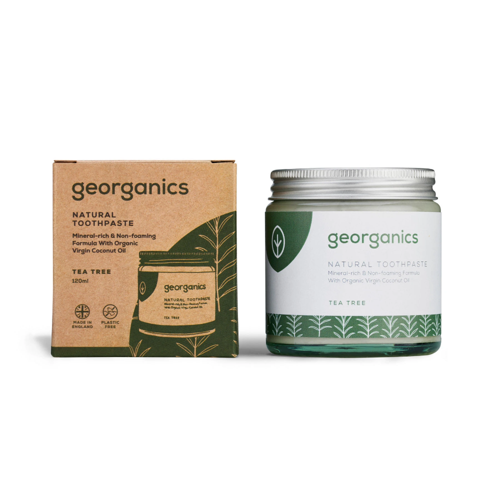 georganics tea tree natural toothpaste