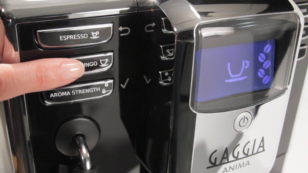 Gaggia Anima Super-Automatic Espresso Machine - Control Panel