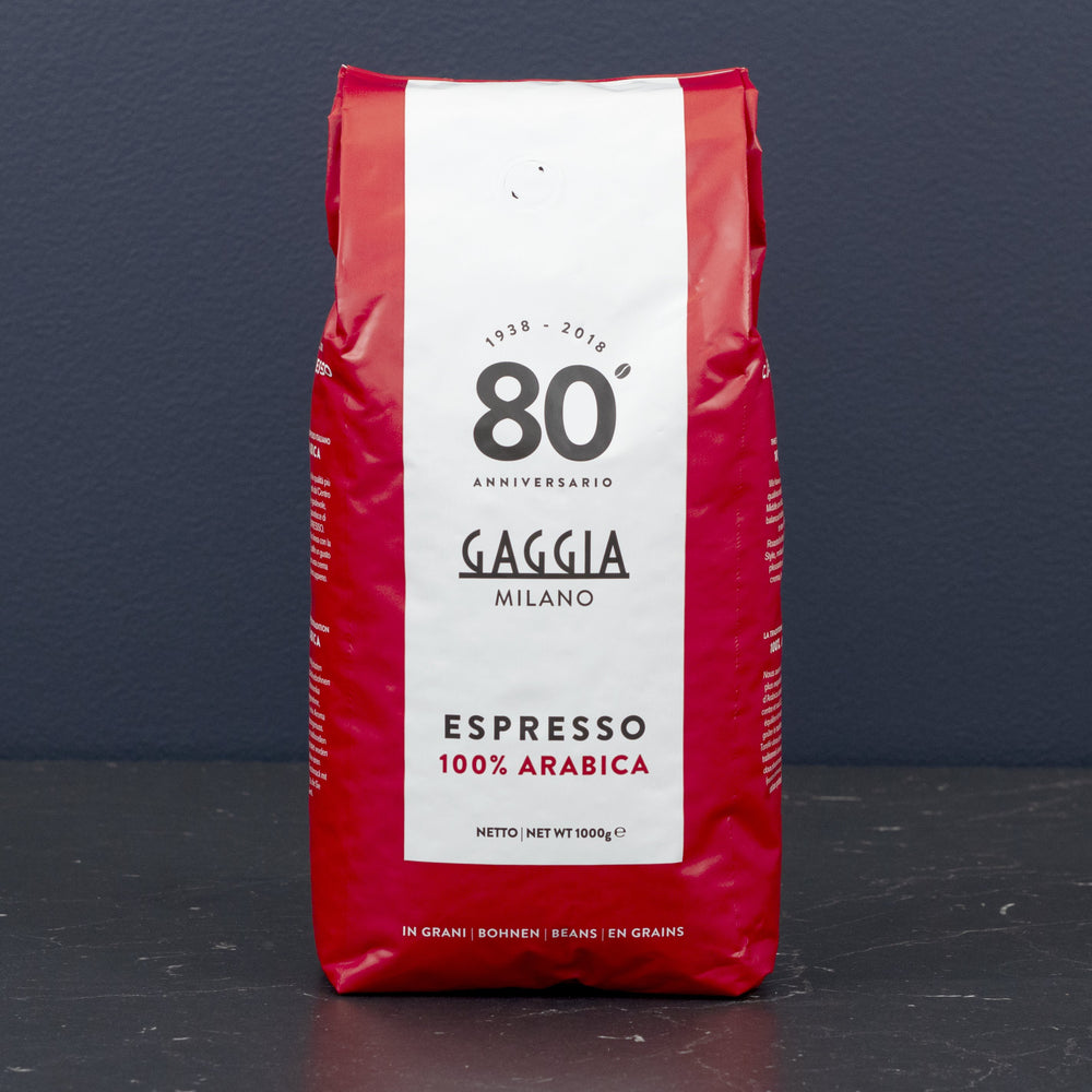Gaggia 100% Arabica Whole Bean Espresso