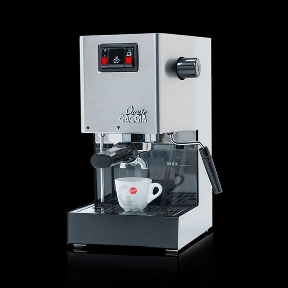 Gaggia Classic Brushed Stainless Steel Semi-Automatic Espresso Machine