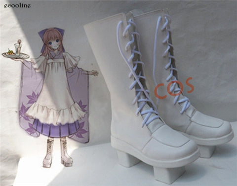 Anime VOCALOID Luka Senbonzakura PV SJ Cosplay Shoes Lolita Boots Custom size Made Free Shipping