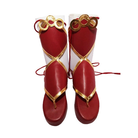 lolita Shoes Lovelive Aqours Cosplay Boots Shoes Anime Party Cosplay Boots Custom Made Women High Heel Shoes