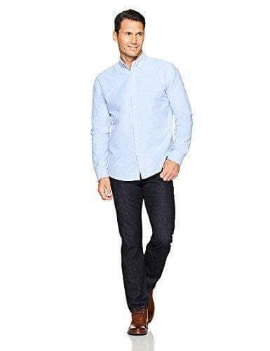 Long-Sleeve Solid Oxford Shirt  WAS $39.99 NOW $29.99