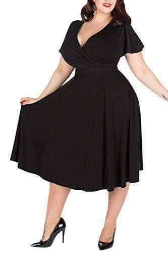 Cocktail Party Plus Size Dress - WAS $49.99 - NOW $39.99