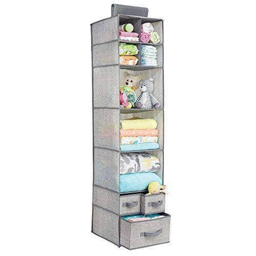 7 Shelves Hanging Soft Fabric Storage Organizer