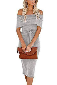 Sexy Off Shoulder Bodycon Dress WAS $42.99 NOW $29.99