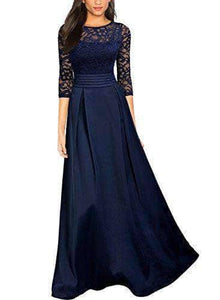 Floral Lace Party Maxi Dress - WAS $89.99 NOW $65.99