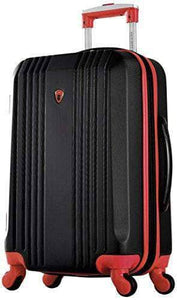 4 Wheel Black & Red Spinner Suit Case