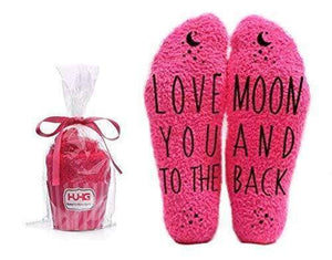 Love You to the Moon Socks