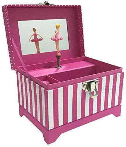 Musical Ballerina Jewelry Box - Pink- Age 4 to 10 years