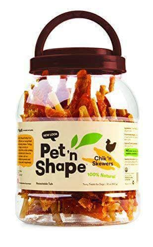 Natural Dog Treats, 2-Pound Tub
