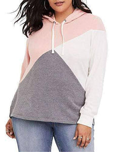 Plus Size Hooded Sweatshirt Top -     WAS $34.99 NOW $26.99