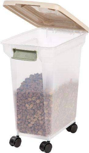 Pet Food Storage Container, 22-Pounds - Made in USA