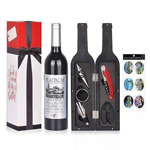Wine Deluxe Accessories Gift Set