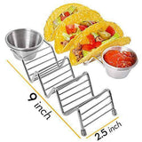 Taco Holders with Cup - 4 Pack