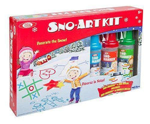 Ideal Snow Art Kit Toy - Age 5 and older