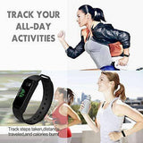Fitness Wristband with Calorie Counter