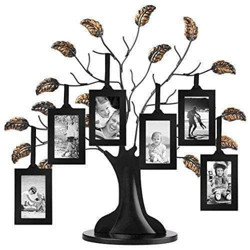 Family Tree Frame with 6 Hanging Picture Frames