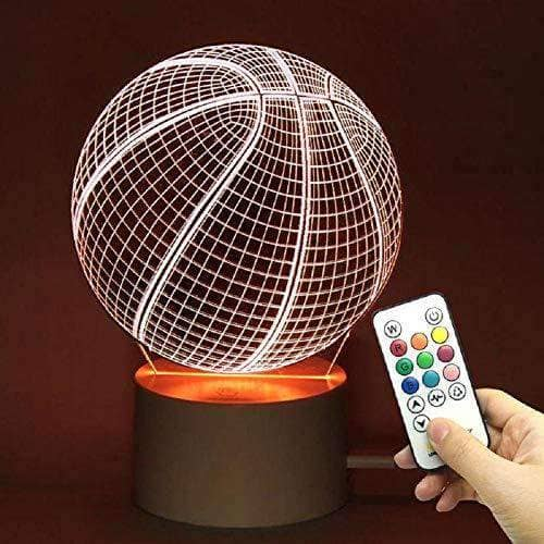 10 Color Dimming Basketball Ball with Remote Control