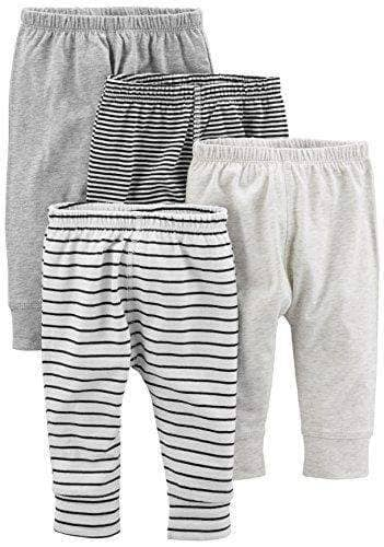 4 Assorted Baby Pants - 4 PACK - NEW BORN TO 24 MONTHS - WAS $39.99 NOW $25.99