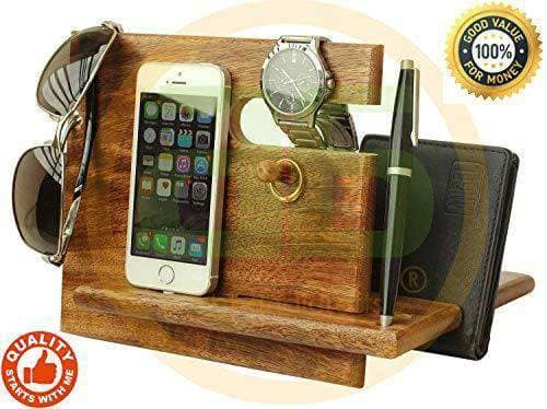 Smartphones Wood Station Gift Box