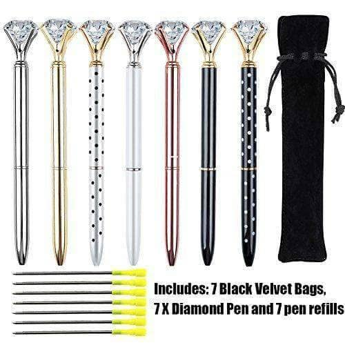 7 PCS Diamond Pens