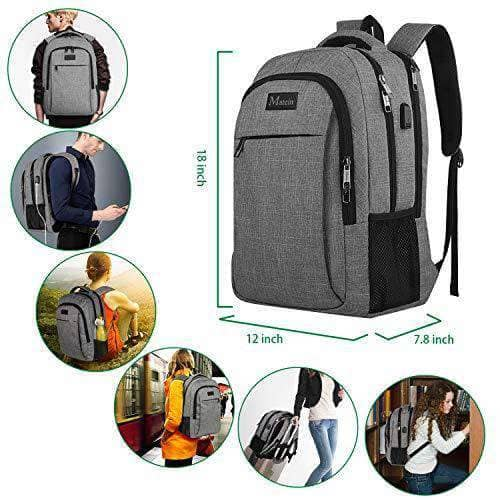 Anti Theft Travel Laptop Backpack