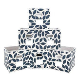 Fabric Storage Bins Cubes Baskets Containers, Set of 6