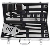 20pcs BBQ Grill Stainless Steel Tools Set
