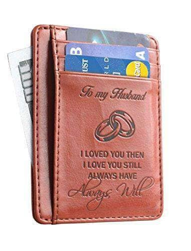 Wallet Card Holder  - Gift for your Husband