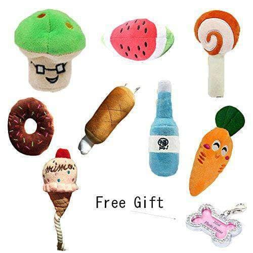 9 PCS Squeaky Dog Toys -