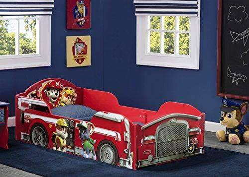 Children Wood Toddler Patrol Bed - AGE 15 MONTHS PLUS