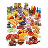 122-Piece Deluxe Pretend Food Assortment TOYS - Boys & Girls Age 1 to 5