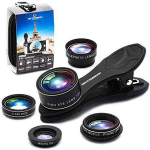 PHONE Camera Lens Kit - 7 Items Package Box