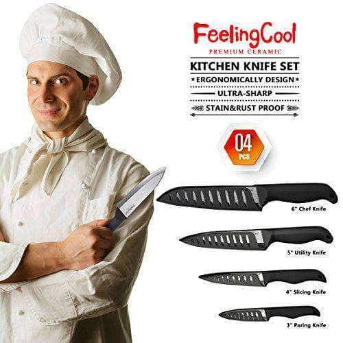 4 Chefs Knives Set