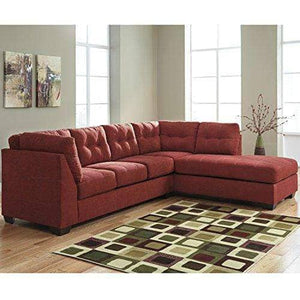 Sienna Red 2 PIECE Right Side Facing Sectional