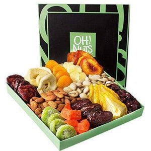 Nuts and Dried Fruit Gift Basket