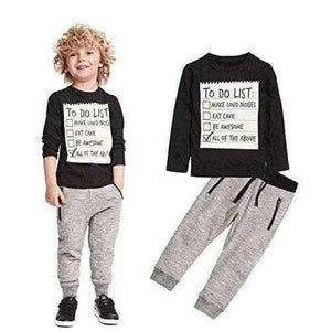 Boys 2 Pieces Set - Age 2 to 7 Years  WAS $38.99 NOW  $26.99