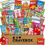 40 Varieties CraveBox  - 40 Count Snack Gift Box