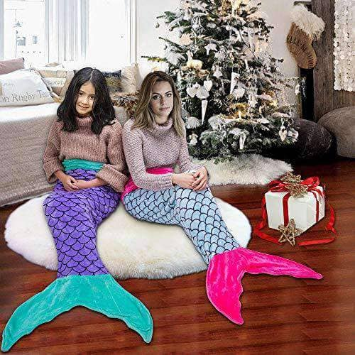Mermaid Tail Kids Blanket