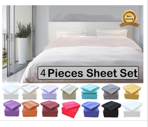 1200TC 4 Piece Luxury bedding Set