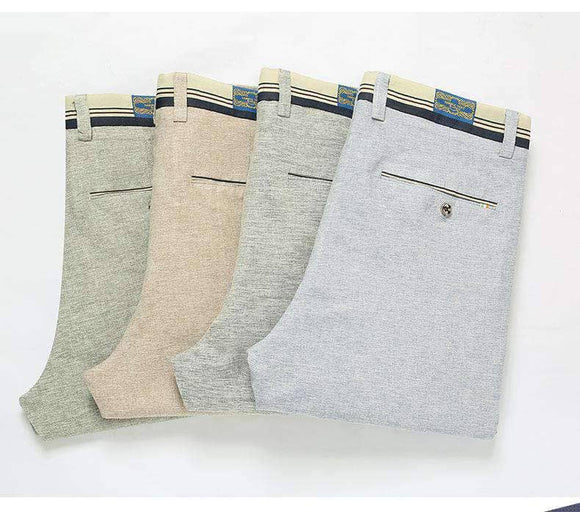 Elastic Casual Pants 4 Colours