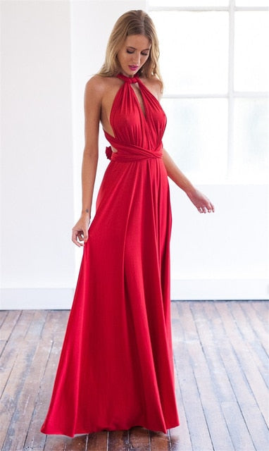 Sexy Multi Way Long Dress