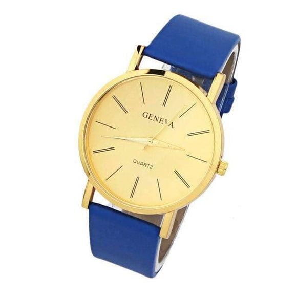 Blue Gold Watch