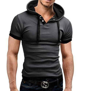 Stylish Hooded Polo Shirt - Several Colours